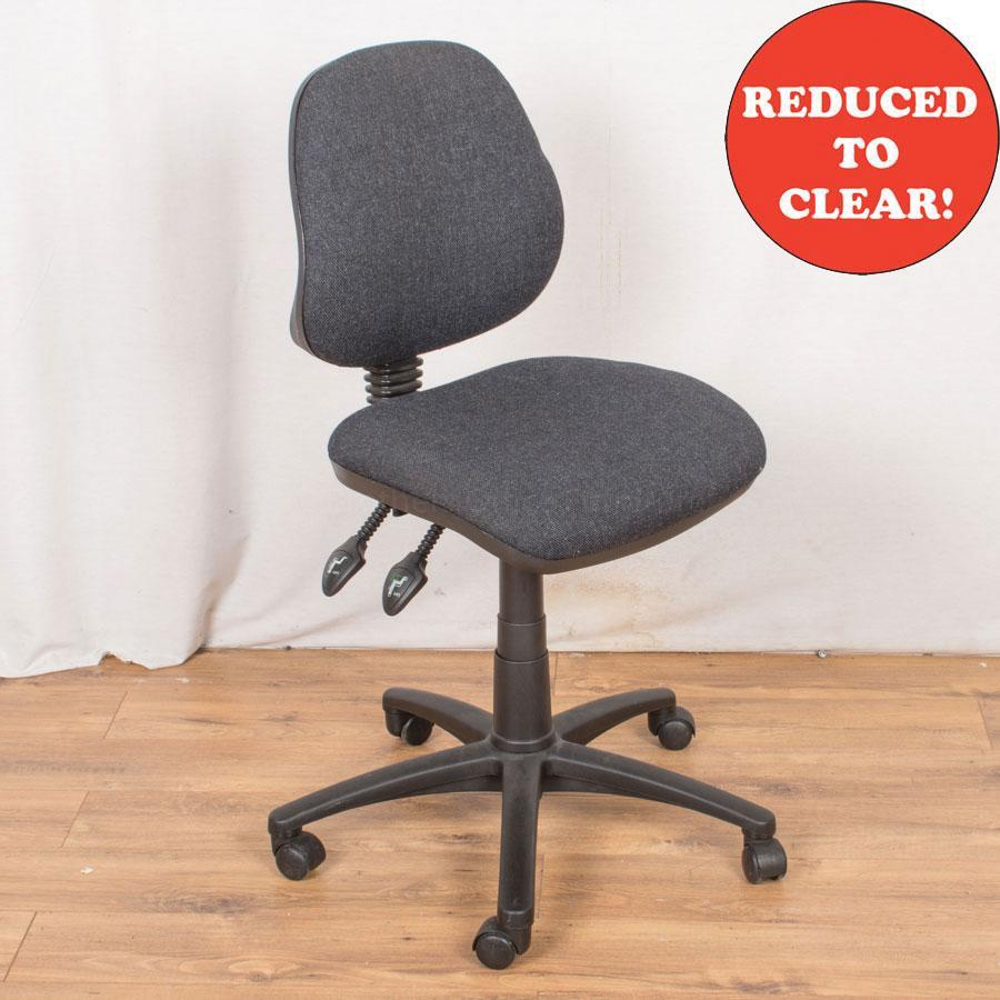 2 Lever Office Chair | Charcoal (OP178)