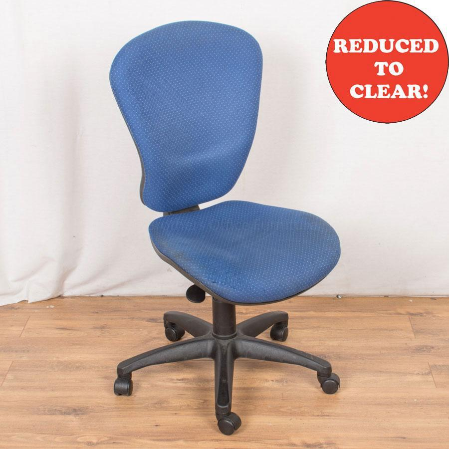2 Lever Office Chair | Spot Blue (OP183)