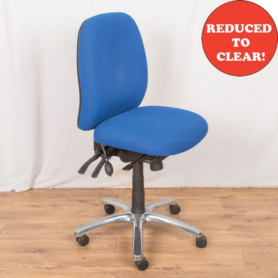Fully Adjustable Office Chair | Blue (OP185)