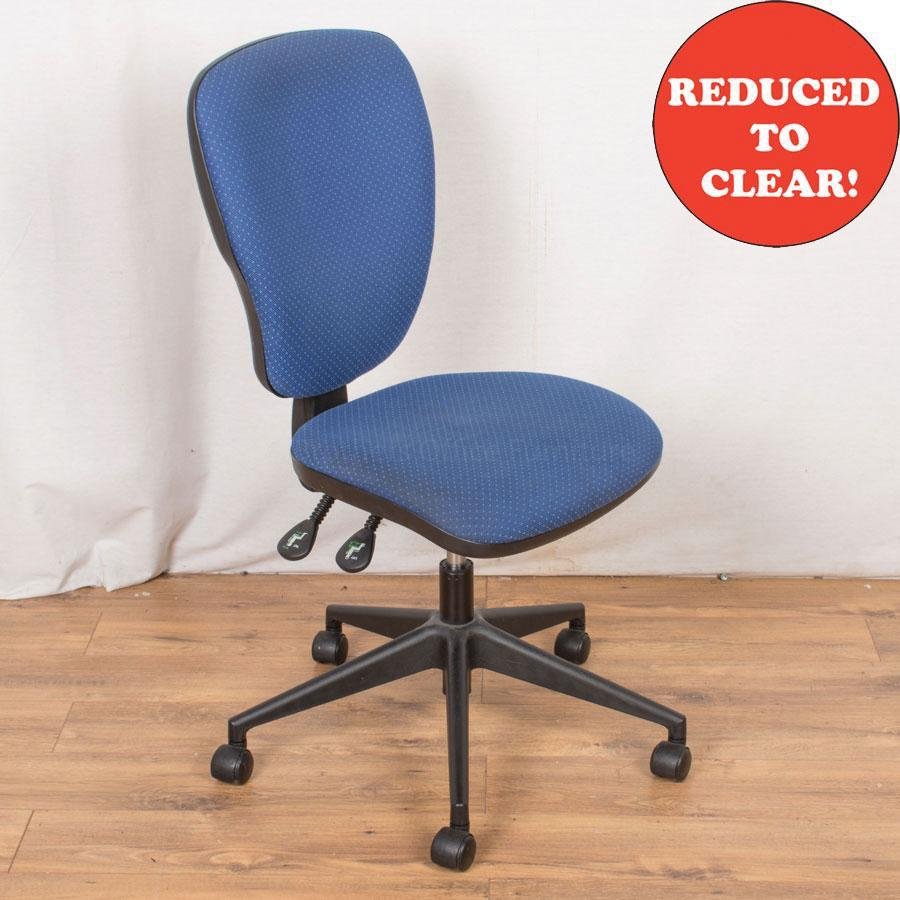 2 Lever Office Chair | Spot Blue (OP189)