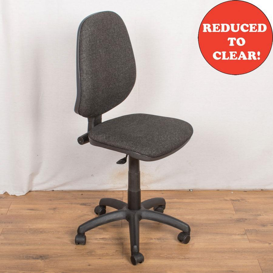1 Lever Office Chair | Charcoal (OP192)