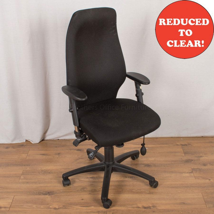 Fully Adjustable Office Chair | Black (OP194)