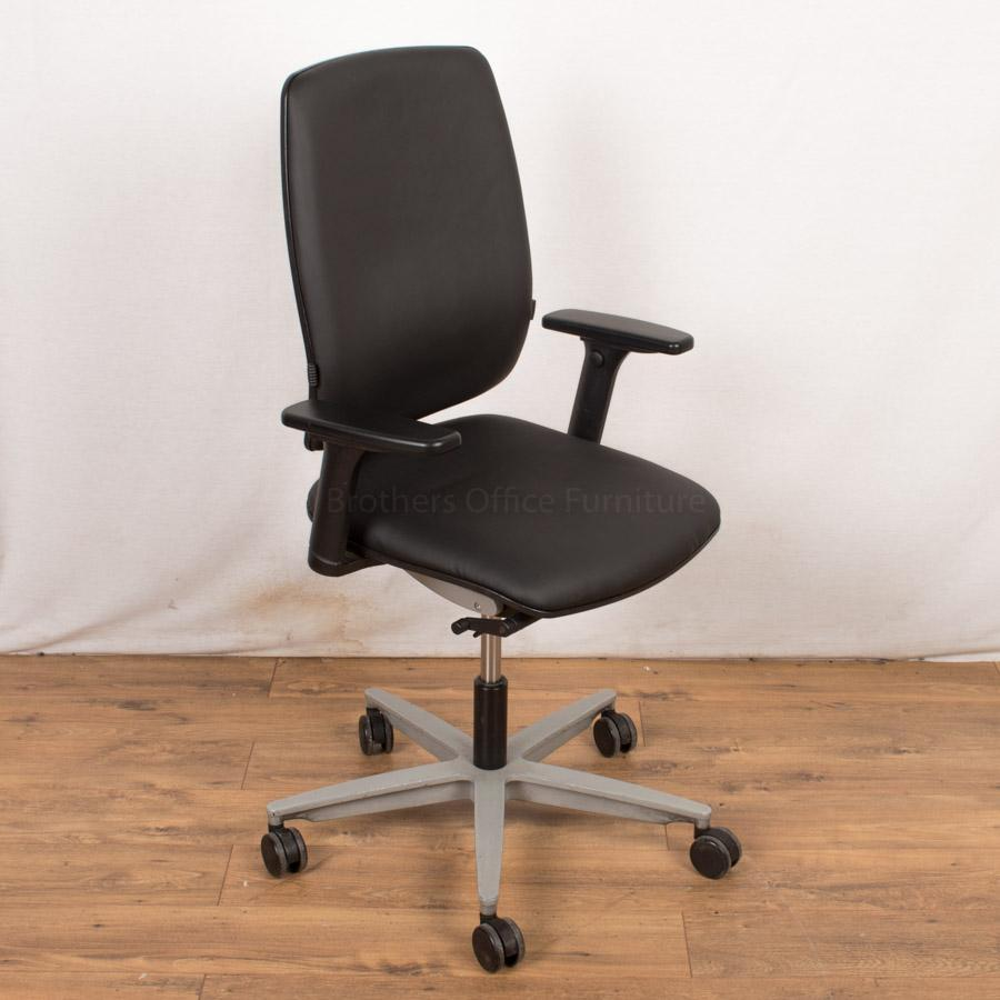 Sedus Early Bird Operators Chair | Real Leather