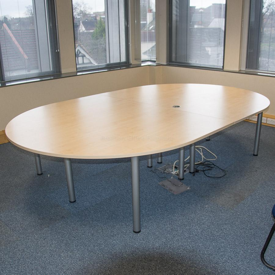 Kentec Maple 2800x2000 Meeting Table