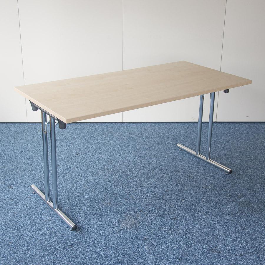 Kentec Maple 1400x700 Folding Table