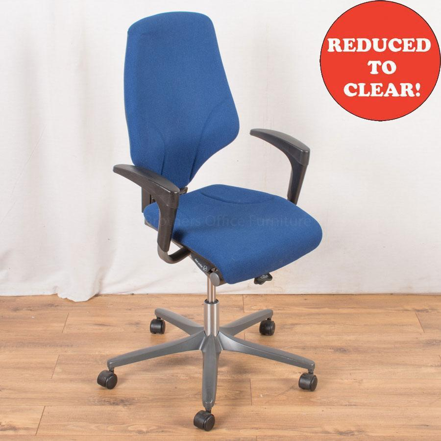 Giroflex 64 Blue Office Chair