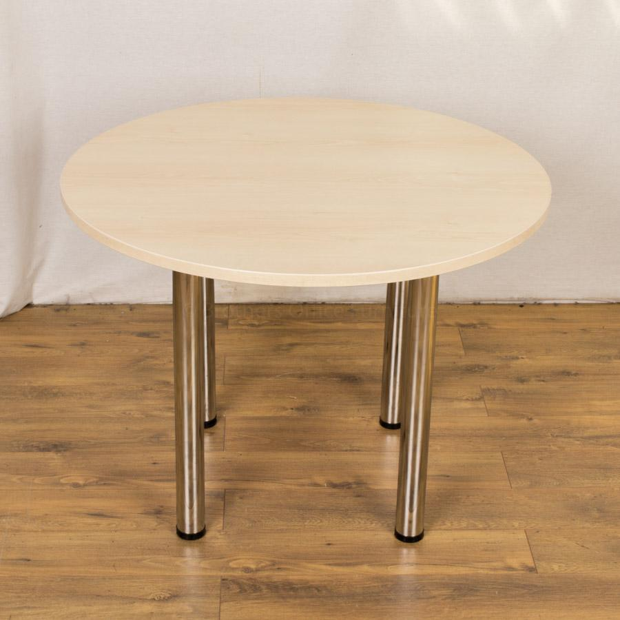 Maple 1000D Round Office Table (RT82)