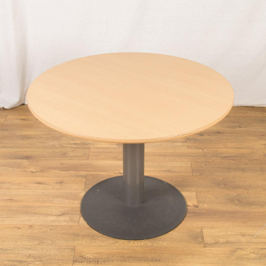 Beech light 1000d round table rt85 for Round table 85 ortenau