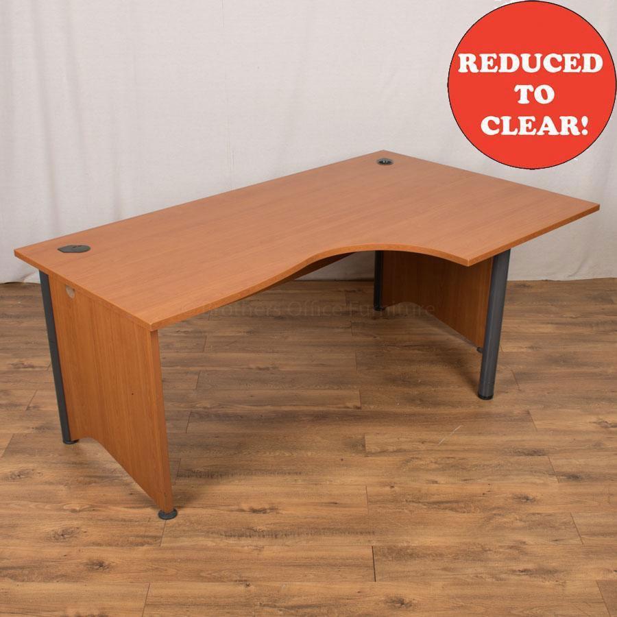 Cherry 1800x1100 Corner Desk