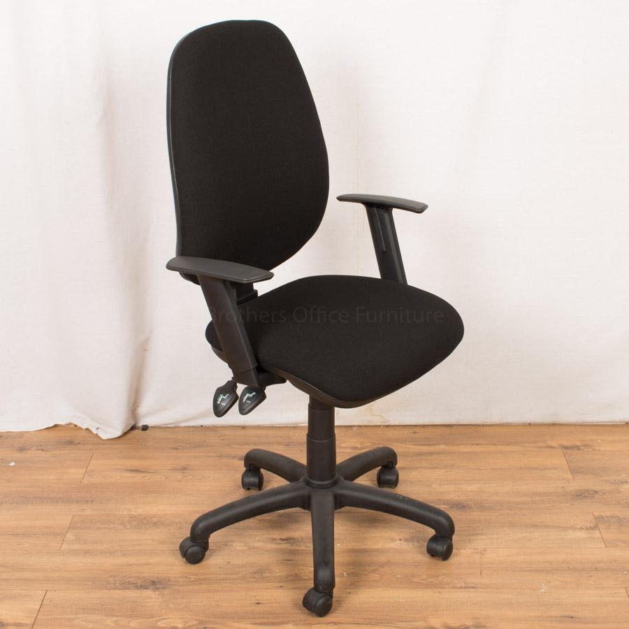 Black Operators Chair (OP213)