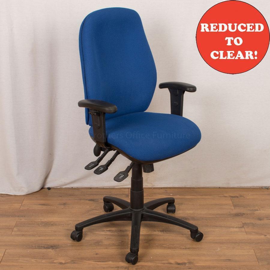 Blue Operators Chair (OP221)