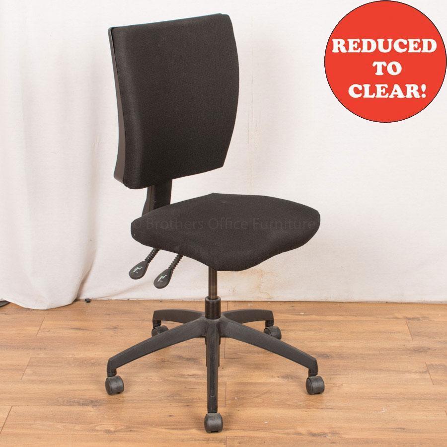 Black Office Chair (OP227)