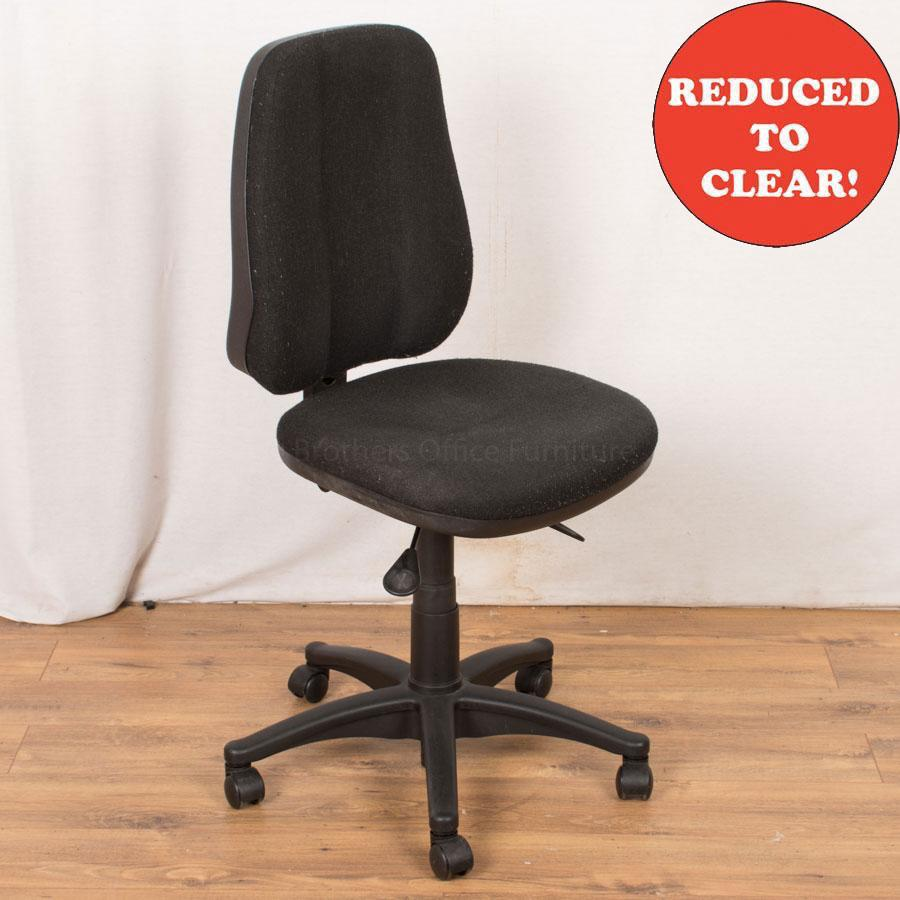 Charcoal Office Chair (OP229)