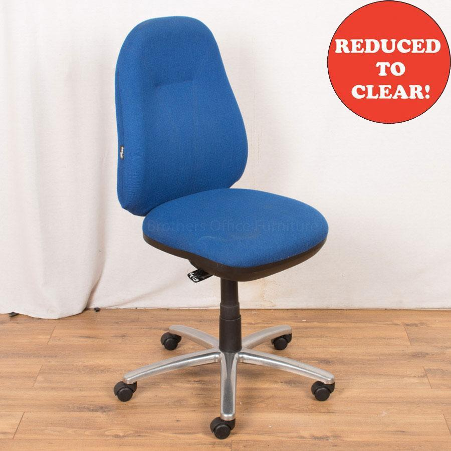 Therapod Status Blue Operators Chair (OP231)