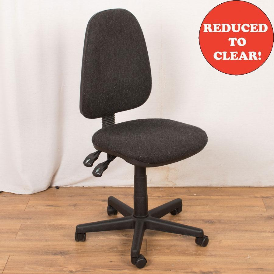 Charcoal Office Chair (OP238)