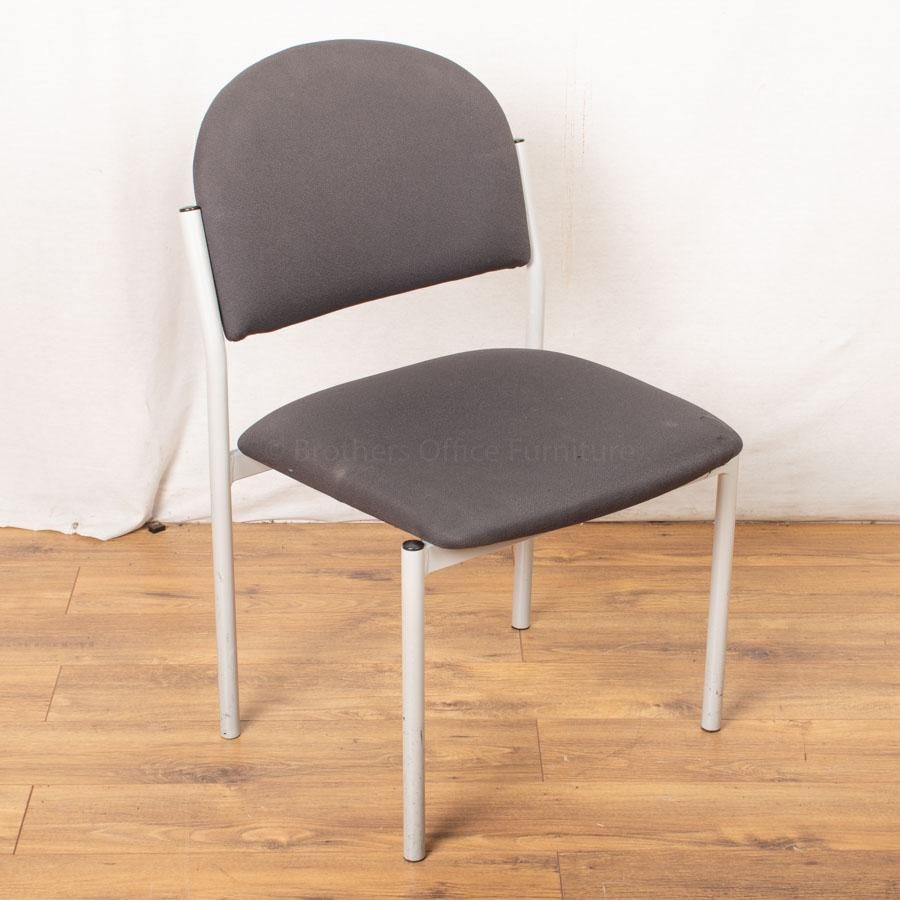 Senator Torasen Grey Stacking Chair