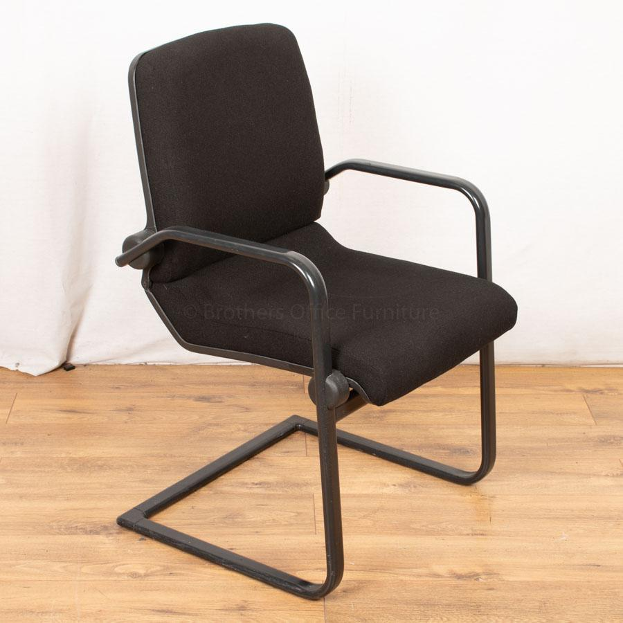Ahrend Black Cantilever Meeting Chair