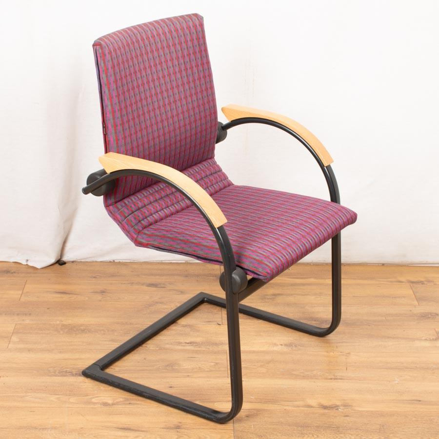 Ahrend Multi Colour Beech Arm Meeting Chairs