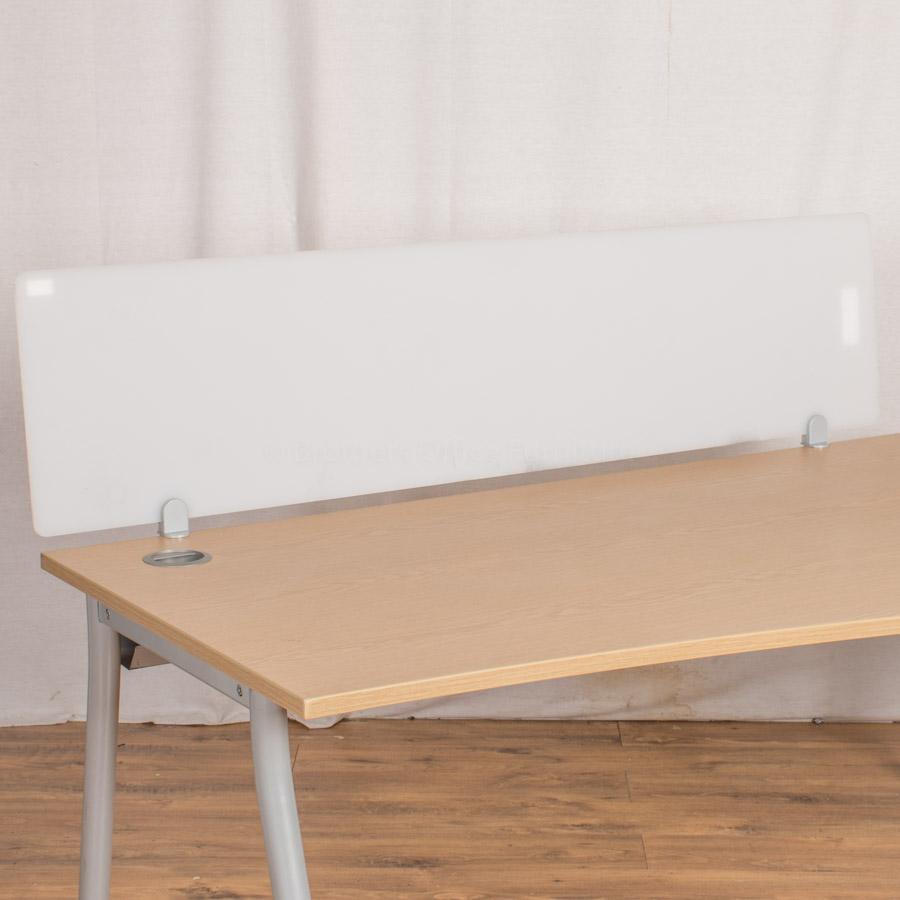 Perspex 1600W Desk Divider (UDS63)