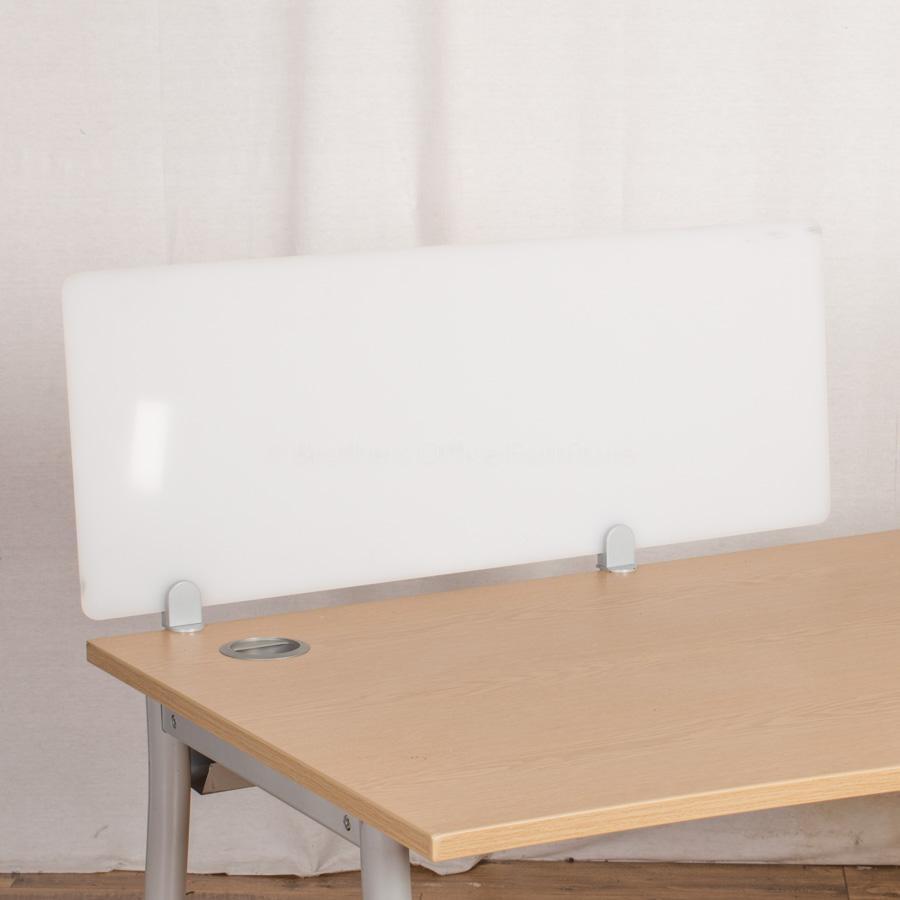 Perspex 1000W Desk Divider (UDS64)