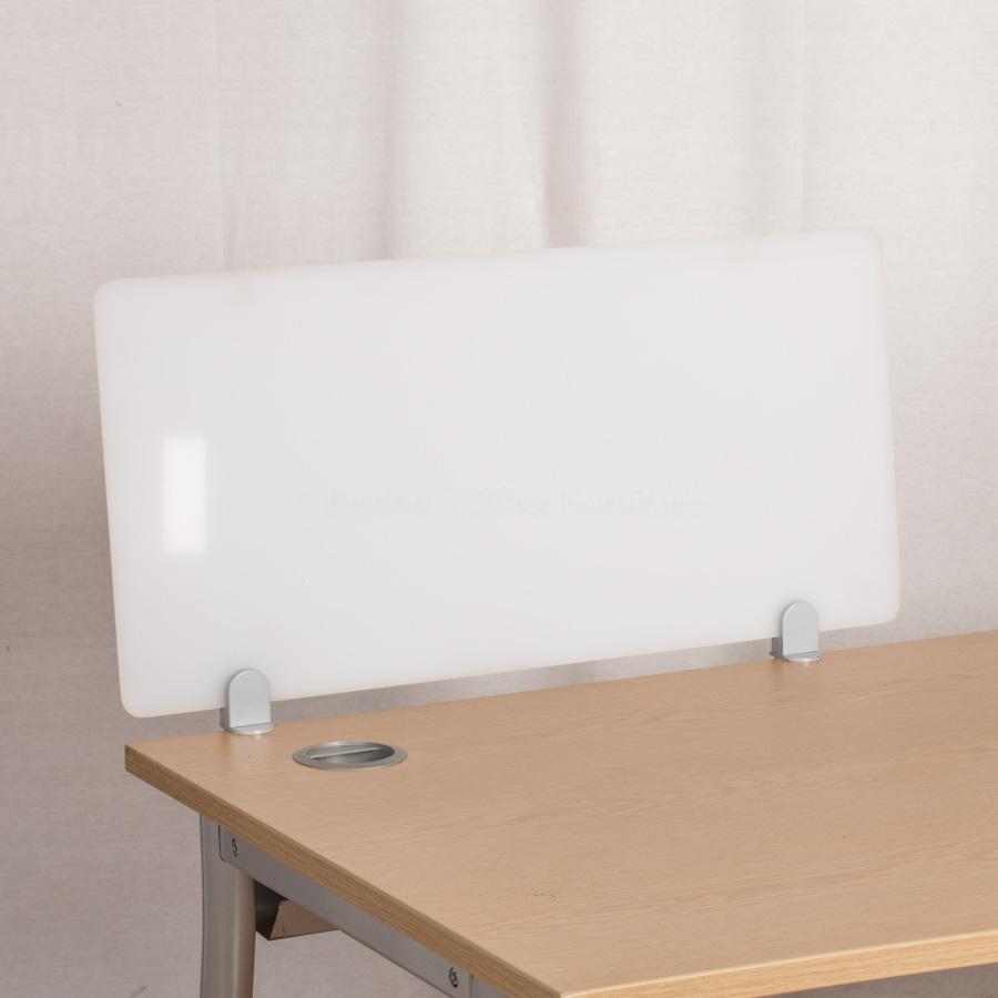 Perspex 800W Desk Divider (UDS65)