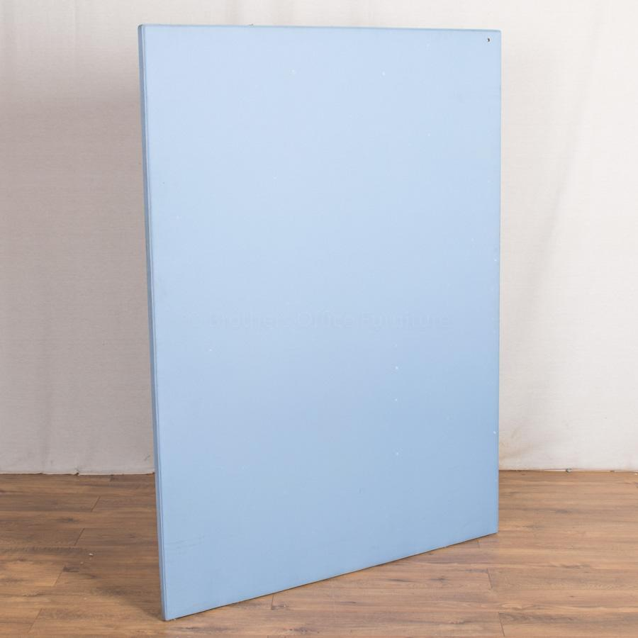 Light Blue 1600H x 1200W Free Standing Room Divide