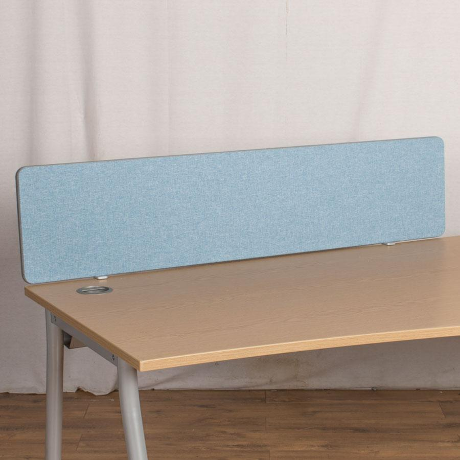 Light Blue 1400W Desk Divider (UDS68)