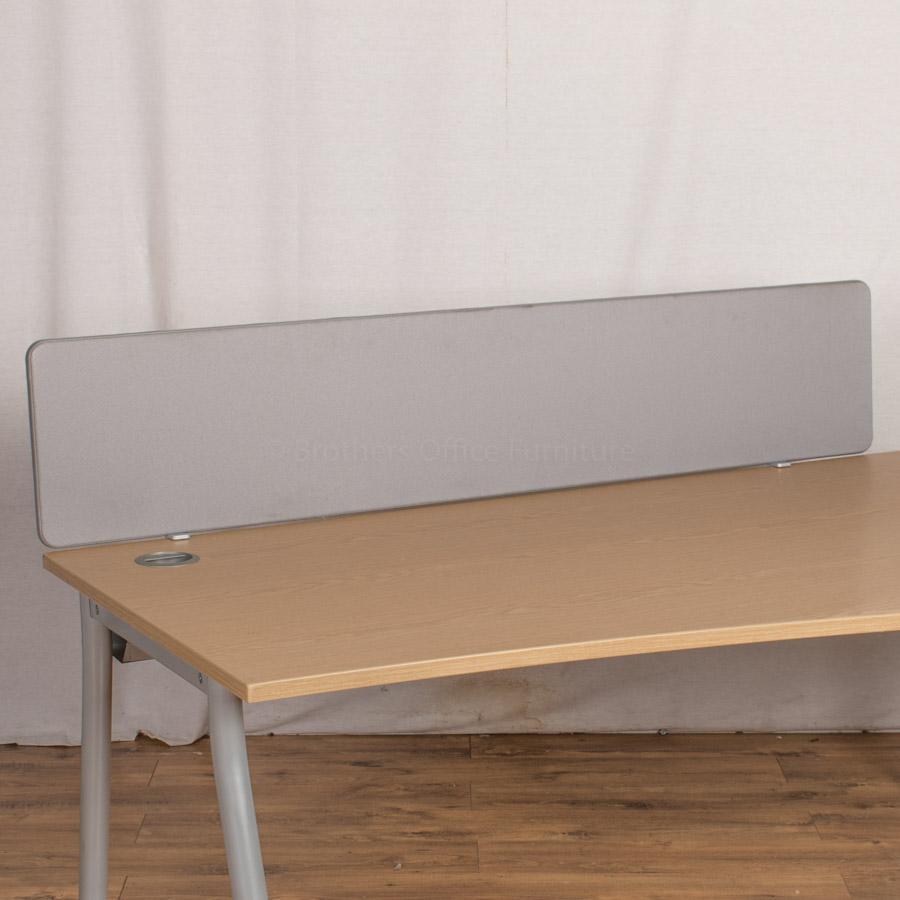 Grey 1600W Desk Divider (UDS69)