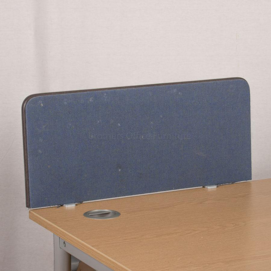 Dark Blue 700W Desk Divider (UDS70)