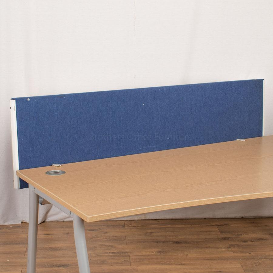 Dark Blue 1630W Desk Divider (UDS71)