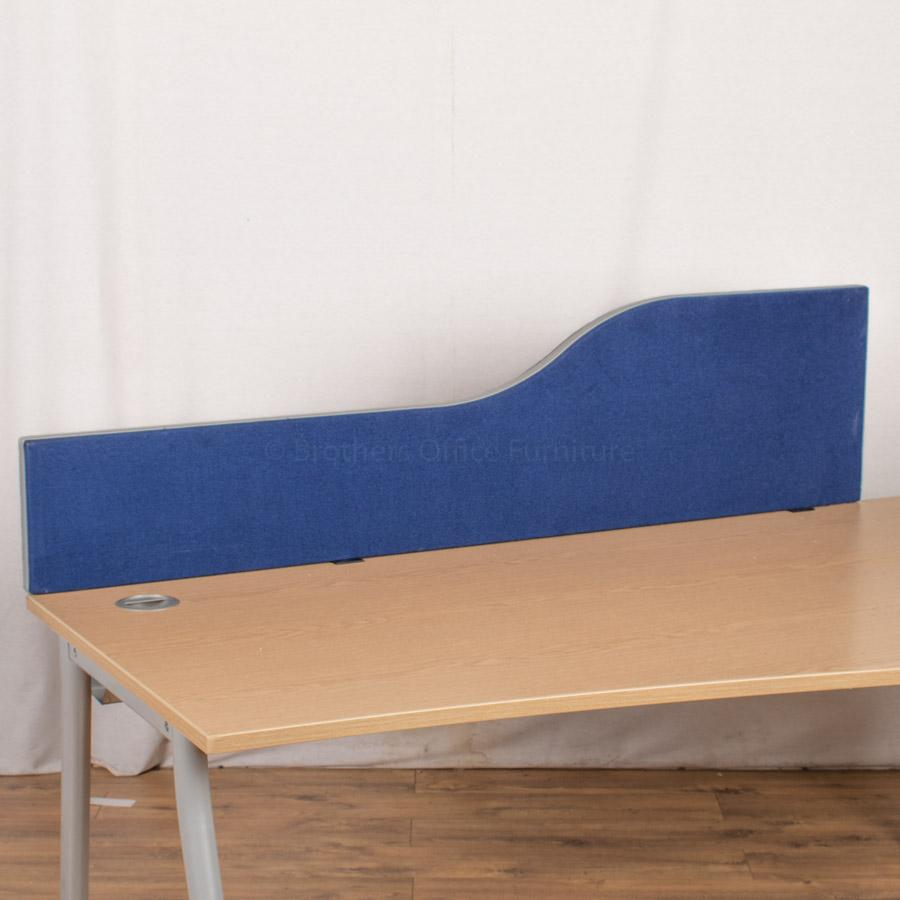 Blue 1590W Desk Divider (UDS76)
