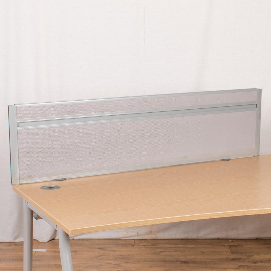 Grey 1400W Desk Divider (UDS80)