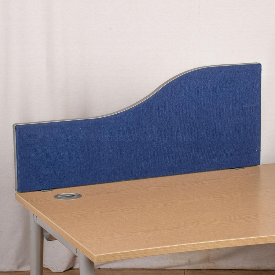 Blue 1000W Desk Divider (UDS81)