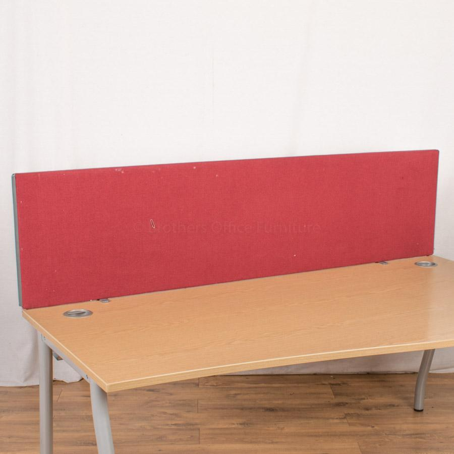 Red 1800W Desk Divider (UDS87)