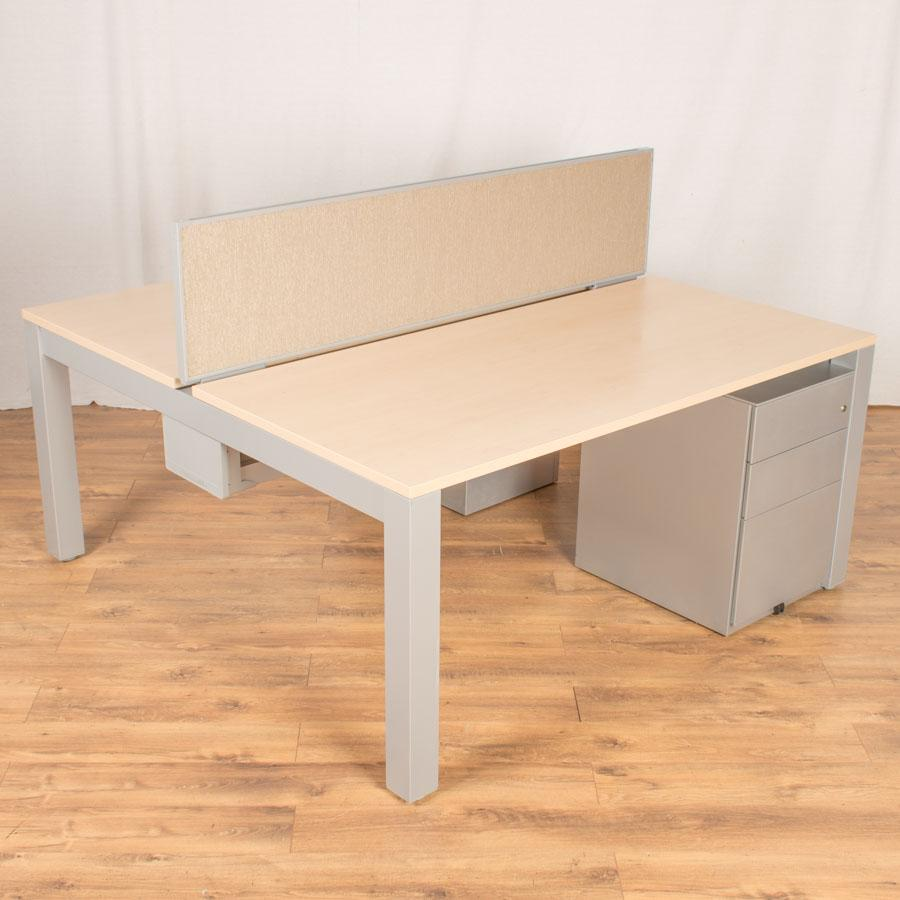 Herman Miller Sense Maple Bench Desks