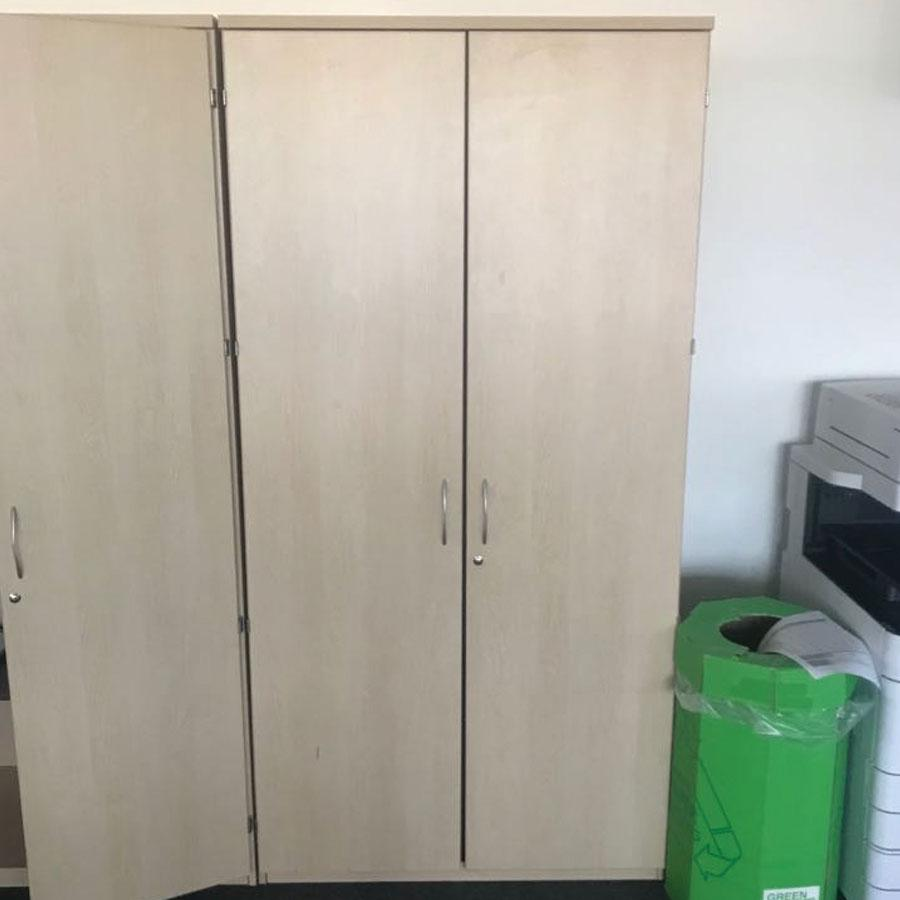 Bravo Maple Tall Office Cupboard