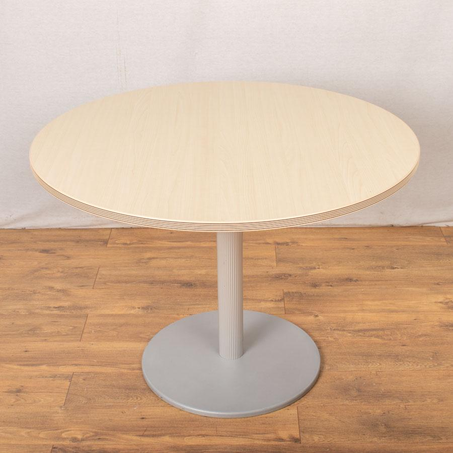 Bene Maple 1000D Round Office Table (RT89)