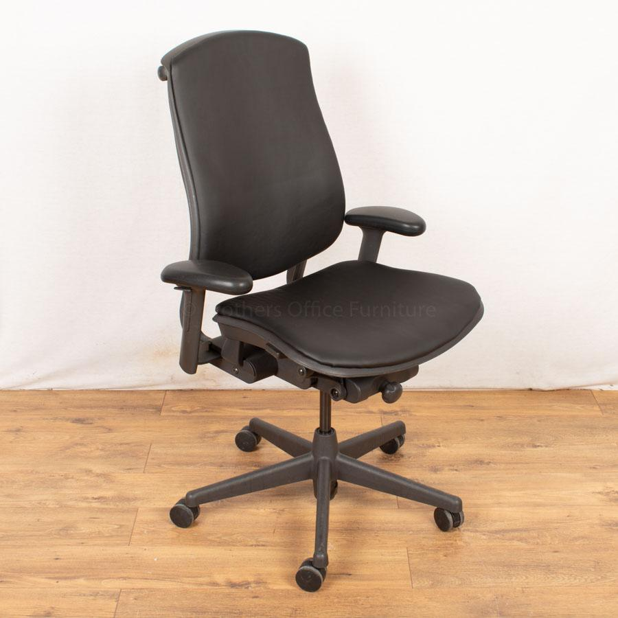 Herman Miller Celle Task Chair | Leather