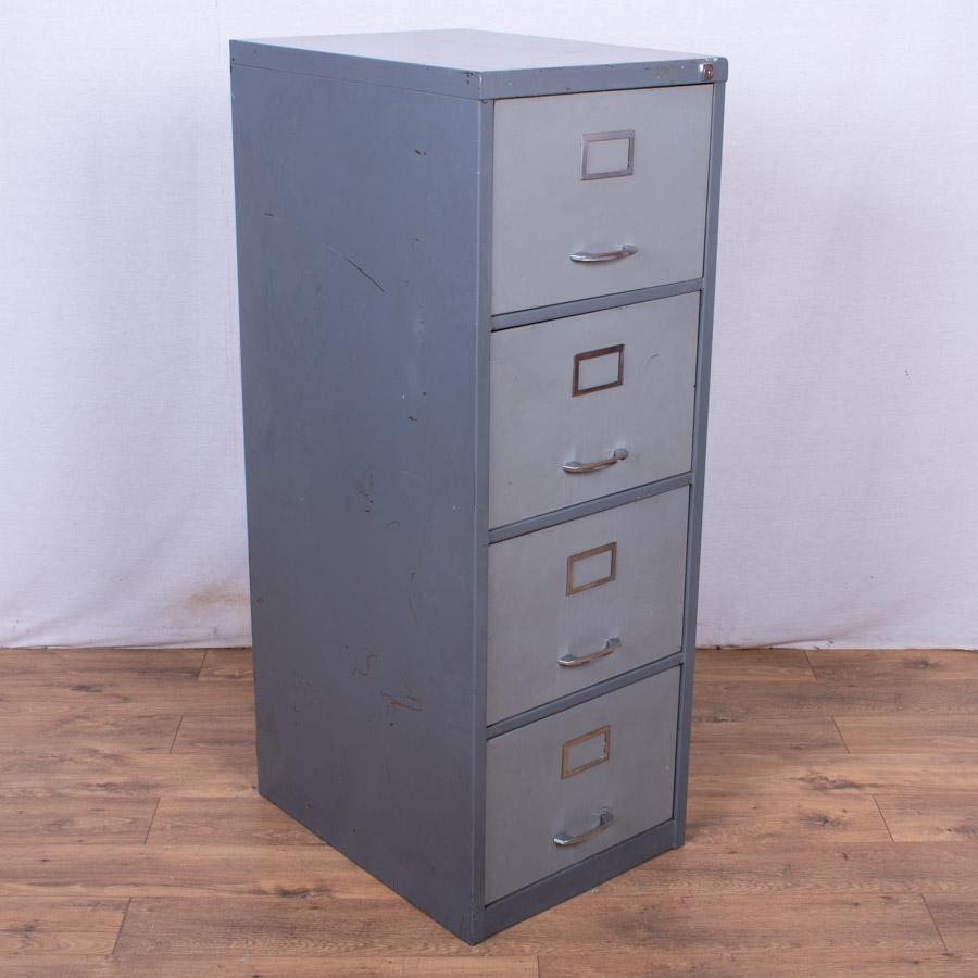 Two Tone 4 Drawer Filing Cabinet (FC94)