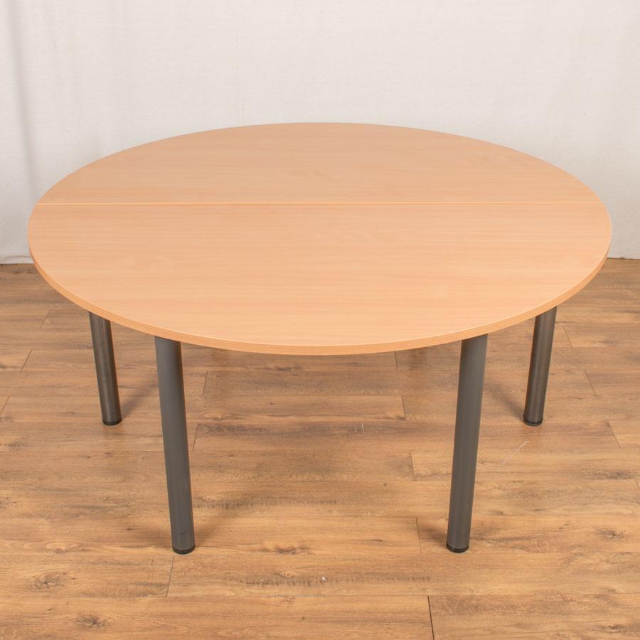 Beech 1600D 2 Piece Round Table