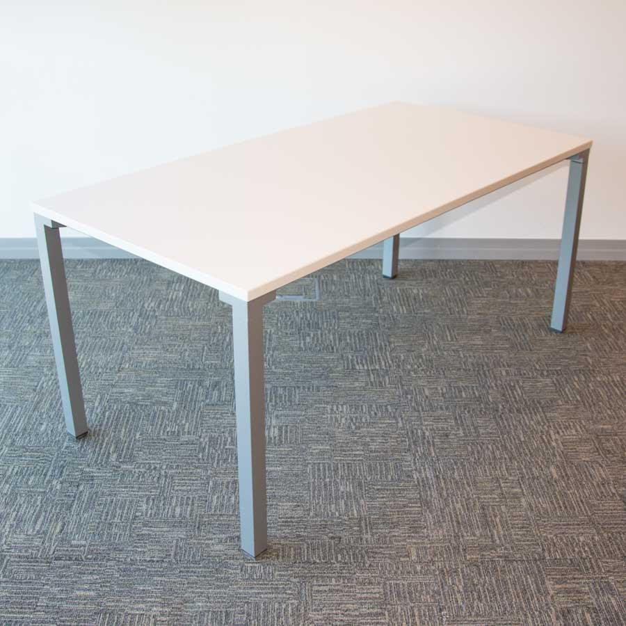 Steelcase White 1600x800 Office Table