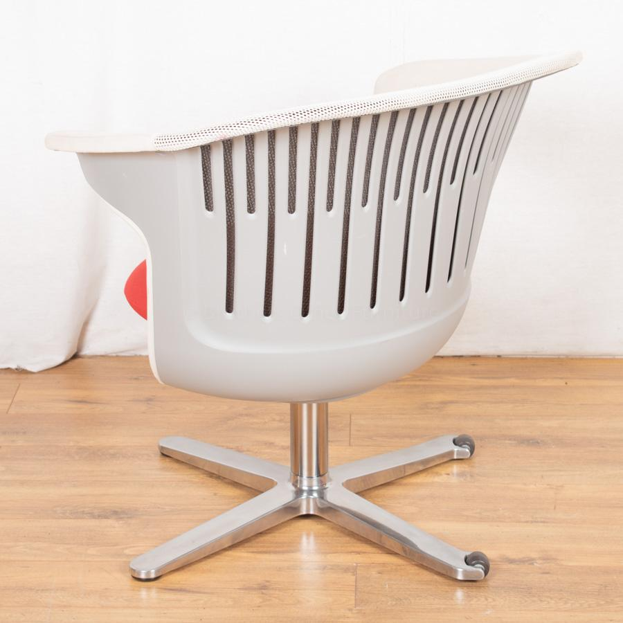 Steelcase Mesh Back Fabric Breakout Reception Seat