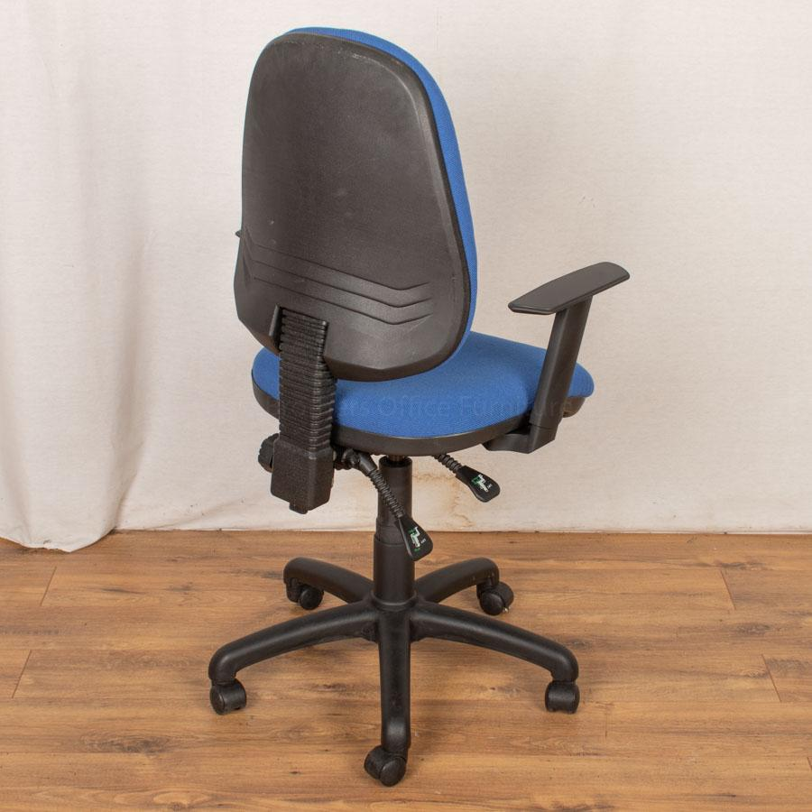 Delta 2 Lever Office Chair with Arms