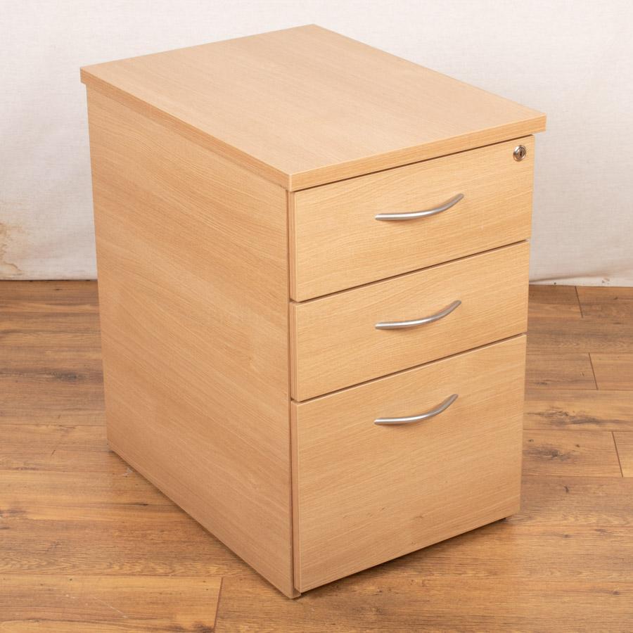 Phase Oak Under Desk Pedestal (PED54