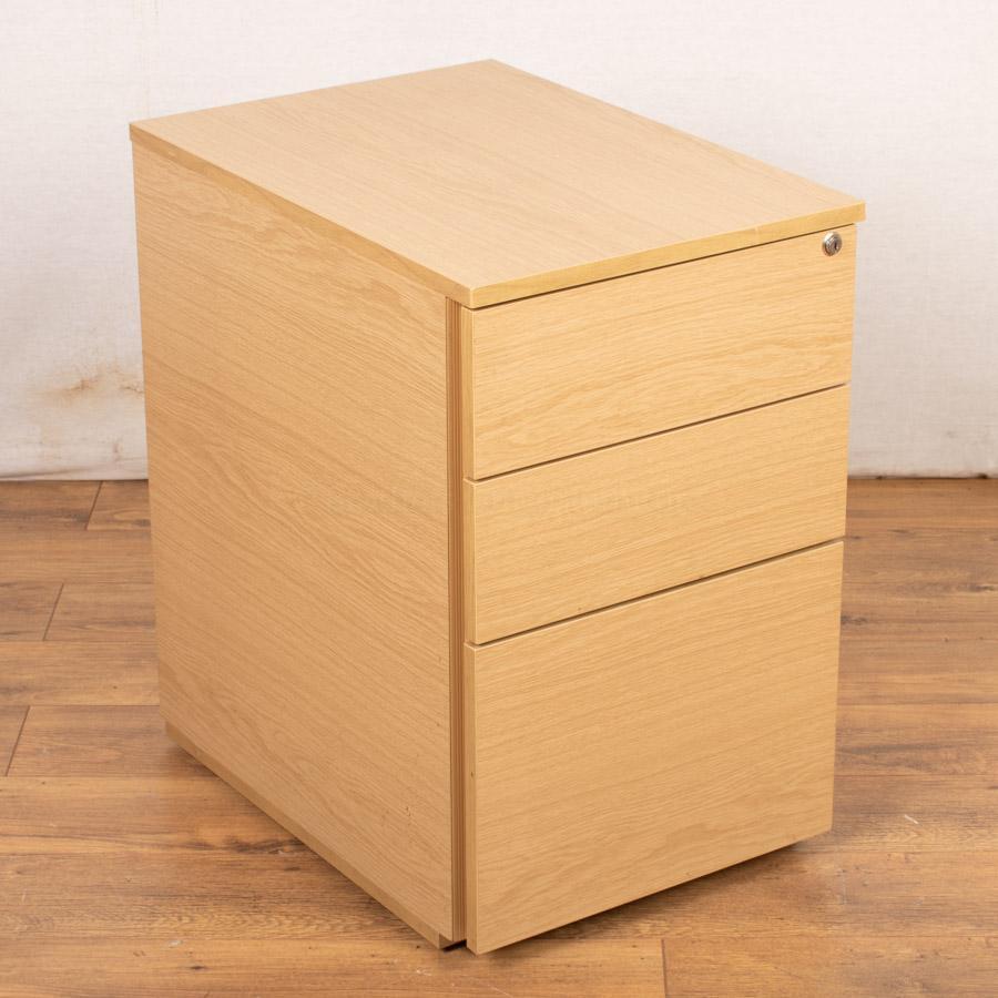 Oak Under Desk Pedestal (PED82)