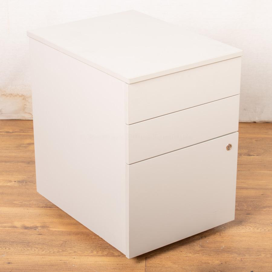 Light Grey Wooden Office Pedestal (PED85)