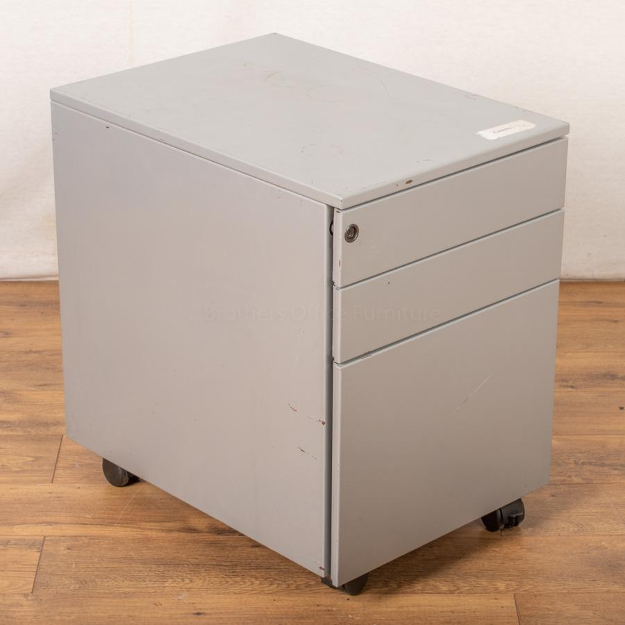 Steel Mobile Under Desk Pedestal (PED90)