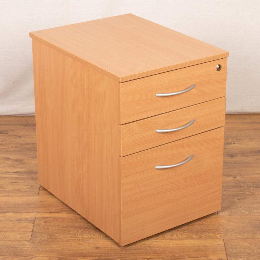 Beech Under Desk Pedestal (PED102)