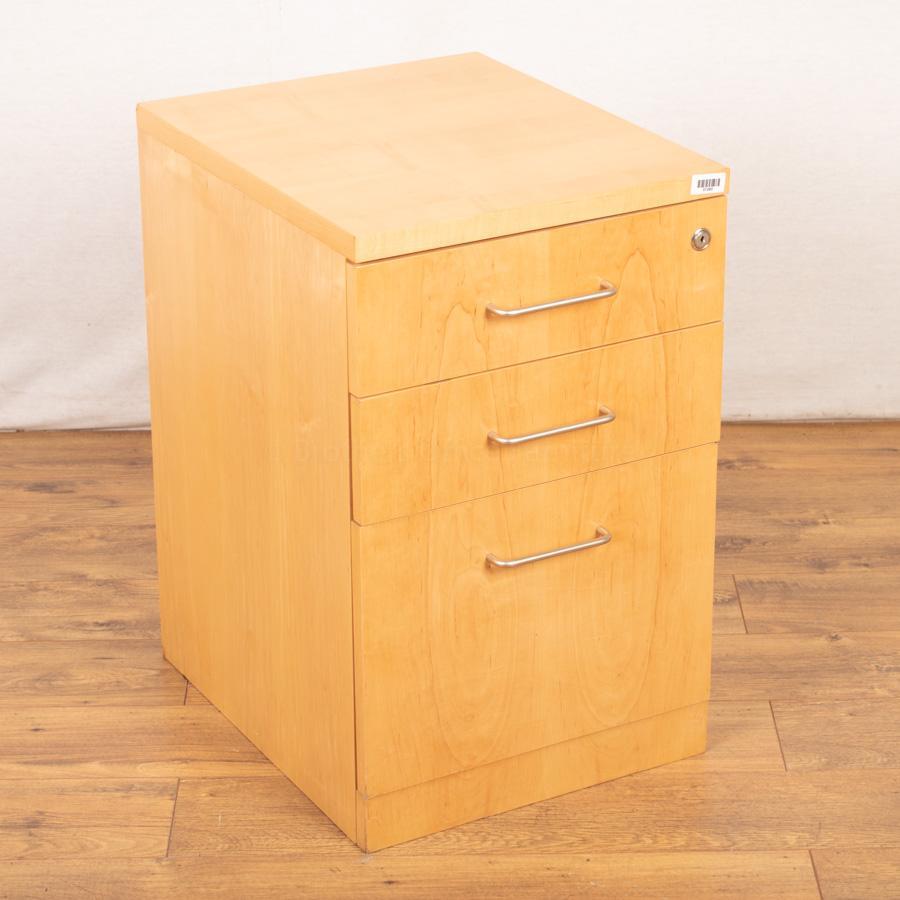 Maple Veneer Office Pedestal (PED108)