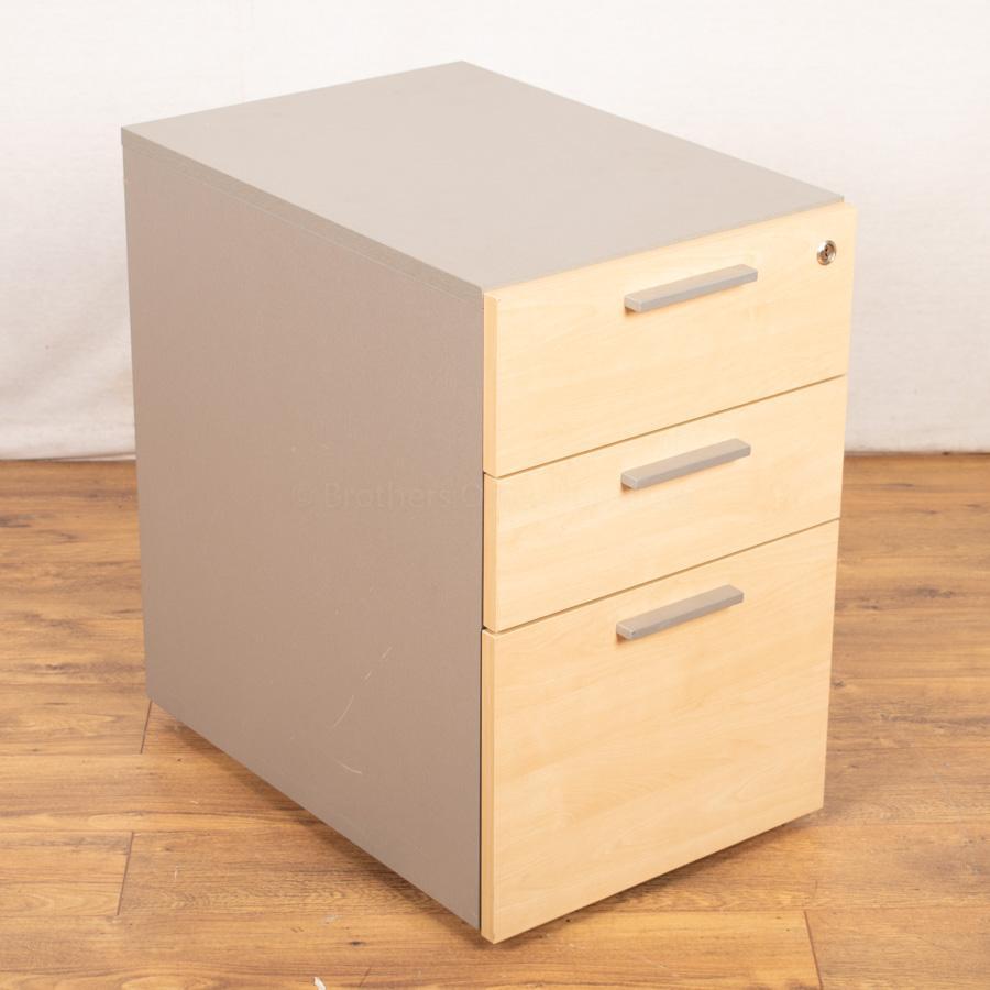Ofquest Maple Under Desk Pedestal (PED110)